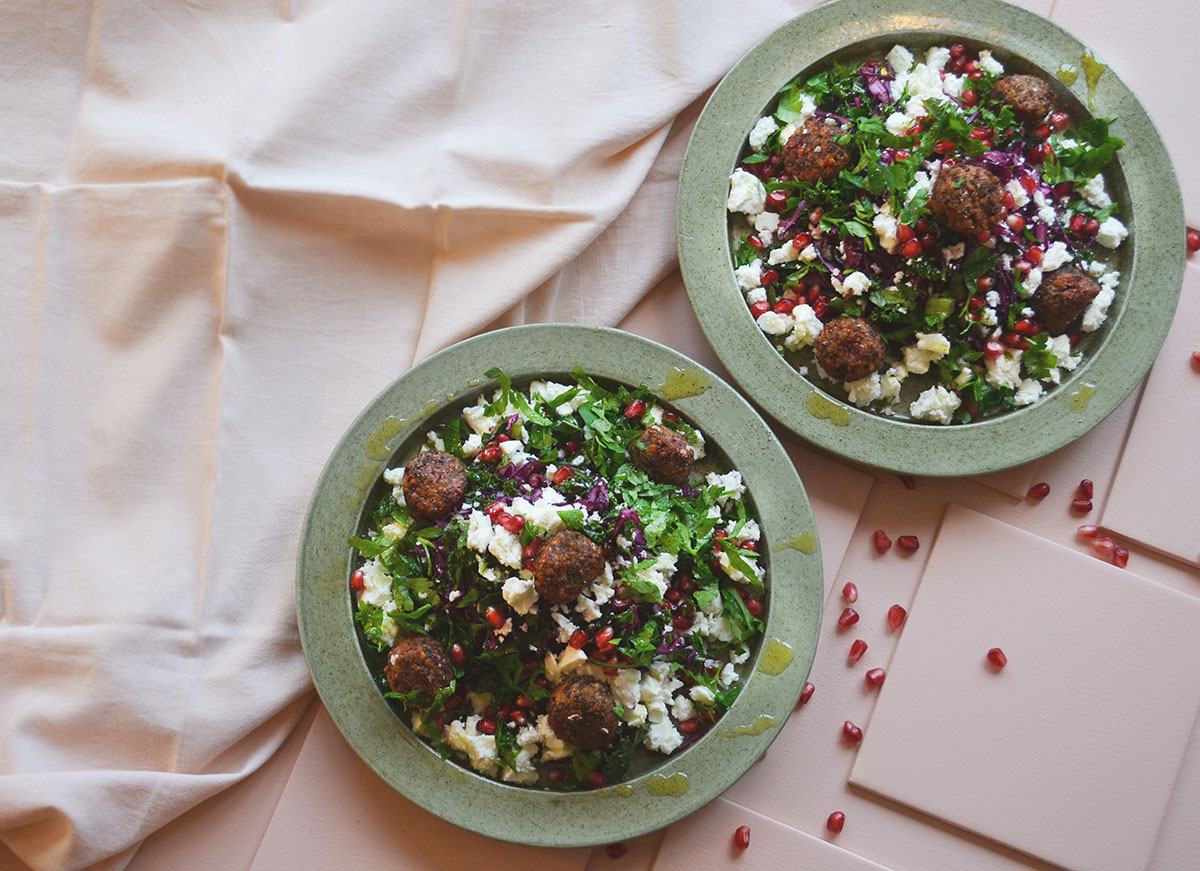 Ohmungood libanesisk sallad