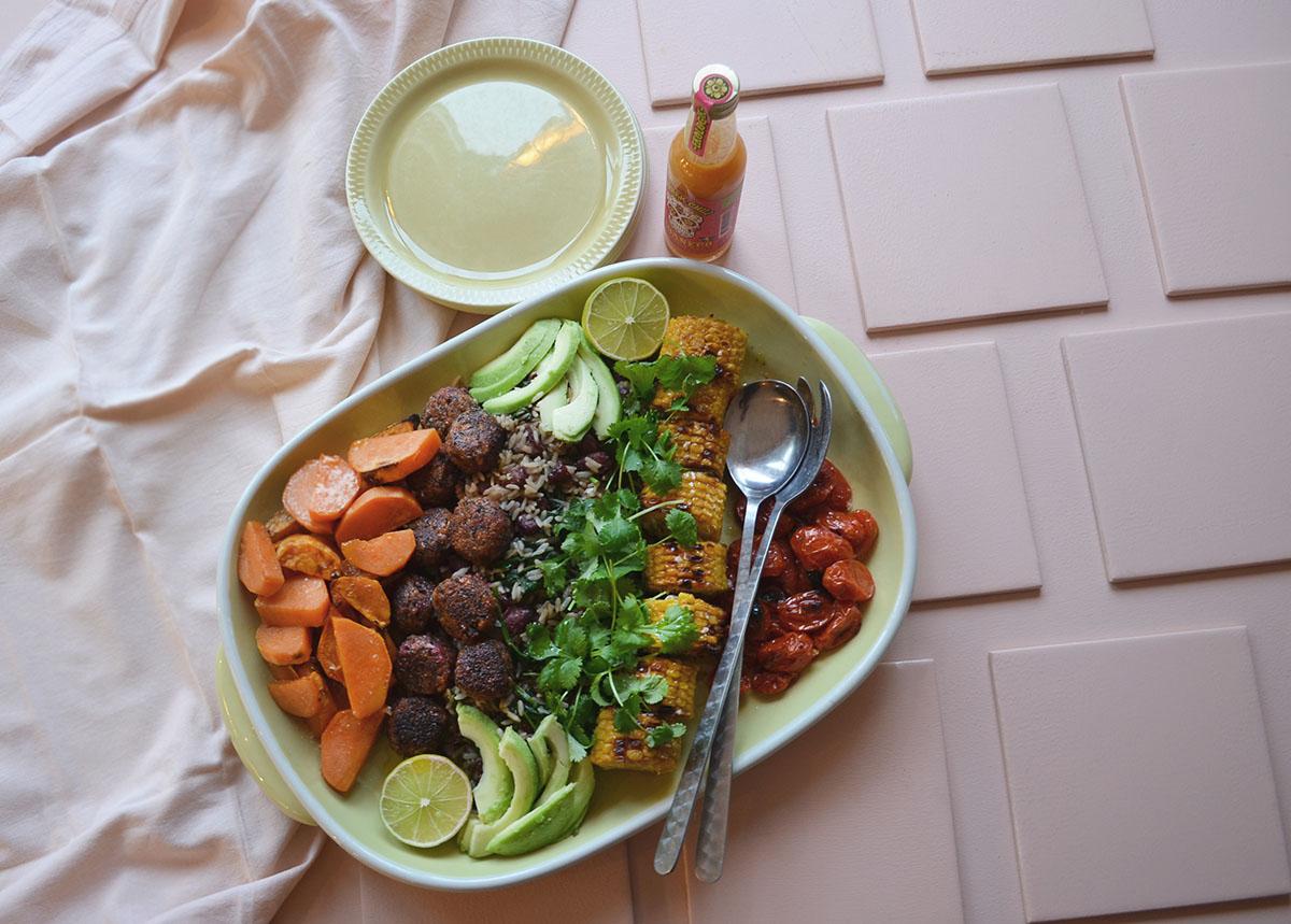 ohmungood mecian rice plate